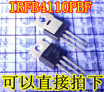 50 adet/grup IRFB4110PBF IRFB4110 4110PBF TO-220 N-CH 100 V 120A